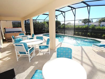 Photo for Stunning spacious villa with own pool and hot tub on gated Terra Verde Resort