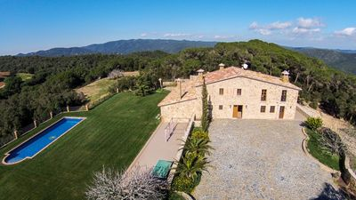 Photo for Great villa located in a beautiful and peaceful place of the Gavarres