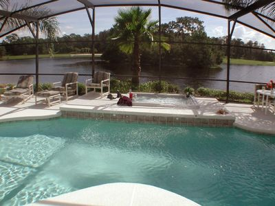 Photo for (Best Value Of The Best) Disney 10 min., Heated Spa &  Pool,  Upscale and Gated