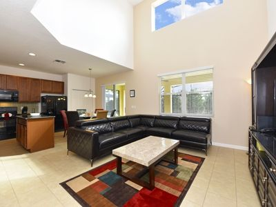 Photo for Home near Disney w/ WiFi, Games Room, Resort Pool, Playground, Volleyball & Gym
