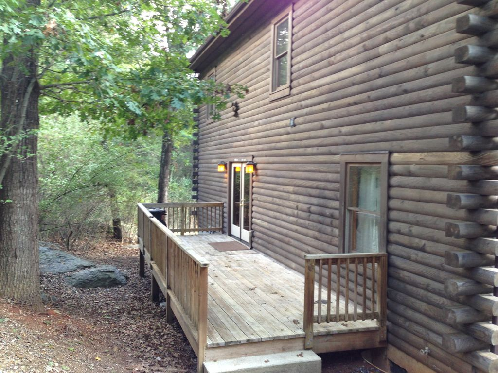 Luxury log home in historic lexington va lexington for Cabin cabin vicino a lexington va