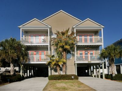 Photo for Garden City Beach House, Ocean View, Pvt Heatable Pool, Linens, Golf Cart Avail