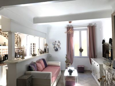 Charming apartment, 36m2, want St-Tropez, near the church, the Ponche, 2 beds