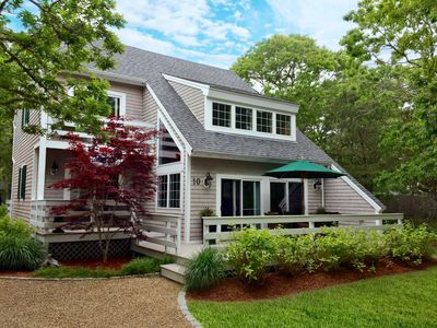 Photo for Bright Sunny Contemporary with Central Air close to Edgartown Village, Beaches