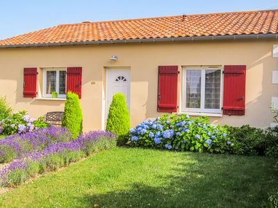 Photo for Attractive villa on exclusive family park with swimming pool in peaceful setting