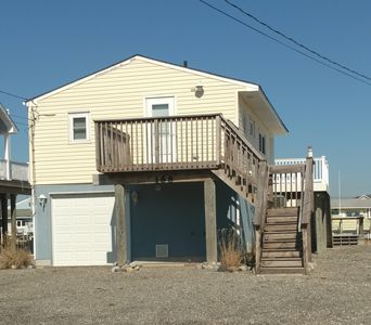 Photo for Tuckerton Beach Waterfront Bungalow, Close to Long Beach Island & Atlantic City!