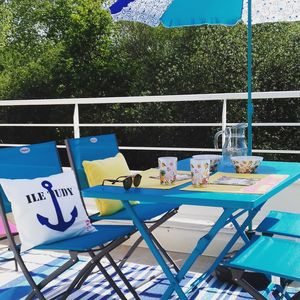 Photo for Ile Tudy Plage Classified 3 stars. Wireless. Terrace Pool Beach 2 to 4 person