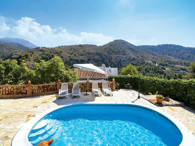 Photo for 3 bedroom Villa, sleeps 6 in Frigiliana with Pool, Air Con and WiFi