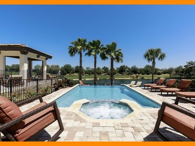 Photo for Reunion Resort 902 - Superior villa with private pool & game room near Disney