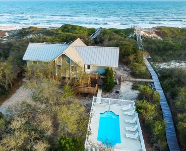 Photo for Best Beachfront Value on SGI! 4 BR/2 BA, Heated Pool, Spa and Awesome Reviews!