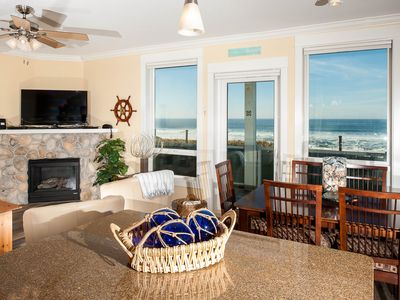 Photo for *Promo!* Oceanfront Condo with Private Hot Tub, Indoor Pool, Free Wifi and More!