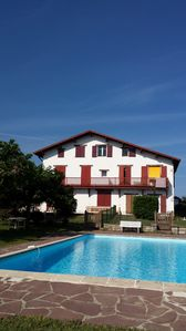 Photo for Magnificent views of the ocean and the mountain. T2 bis with private garden, swimming pool