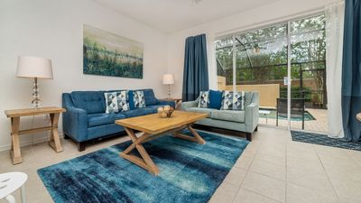 Photo for Welcome to Windsor Hills Resort and this stunning 3 bedroom, 3 bathroom, 1,140 sq. ft. rental located near the theme parks in Orlando, Florida.