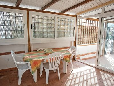 Photo for At few meters from the beautiful sandy beach of Biodola, two- room apartment for 2/4 persons.