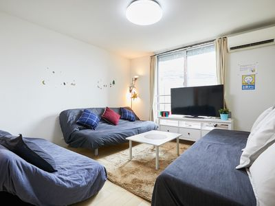 Photo for Shinjuku Luxury newly 3LDK house!  103m2 free parking lot. In front of bus stop
