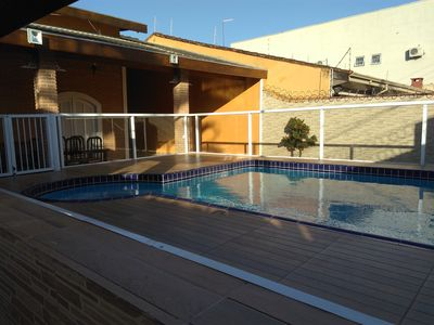 Photo for Beautiful home w / pool in Martim 500 meters from the beach