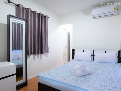 Photo for 2BR Apartment Vacation Rental in Tambon Prachathipat, จ.ปทุมธานี