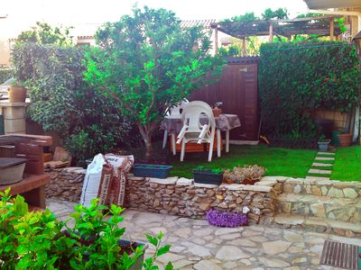 Photo for Beach - great 100 sq.m apartment, 3 bedrooms, enclosed garden, parking, quiet setting