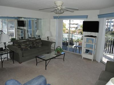 Photo for 2 Bedroom/ 2 Bath Condo with a sleek interior will have you relaxing in no time!  (308)