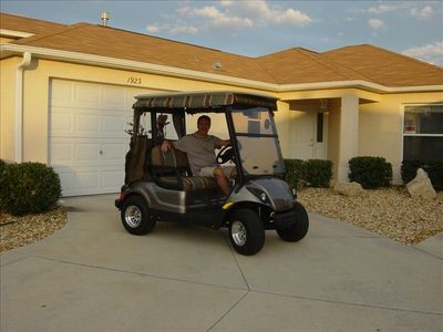 Golf Cart available for use