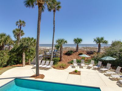 Photo for Palmetto Dunes Oceanfront! Ideal Family Social Distancing spot!