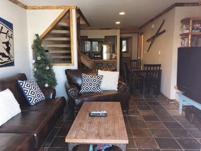 Photo for Million Dollar Views, Hot Tub, Fireplace, 60' TV w/ Wii & Blueray, FREE shuttle