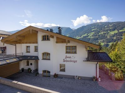 Photo for Holiday apartment with terrace in the skiing area