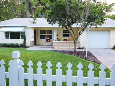 Photo for Rocking Chair Cottage in Historic Mt Dora (Walk to Town)