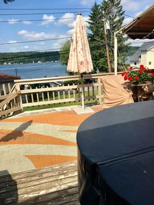 Photo for Enjoy your family vacation at our cozy, specious home on Conesus Lake.