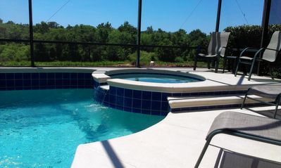Photo for Luxurious Private 4 Bed Family Pool Home with Stunning Views & Fun Kids Rooms