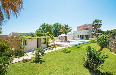 Photo for Unique waterfront Villa next to the beach and all amenities, Private Pool