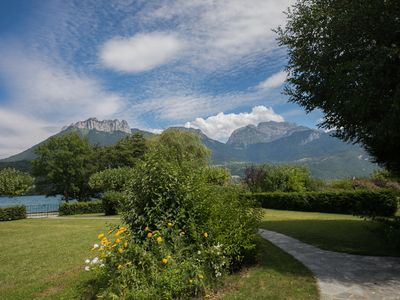 Photo for Lake Annecy - Sevrier : Lakefront, Family house for 11 people