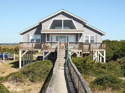 Photo for Lukes Hideaway: 4 BR / 2 BA home in Caswell Beach, Sleeps 10