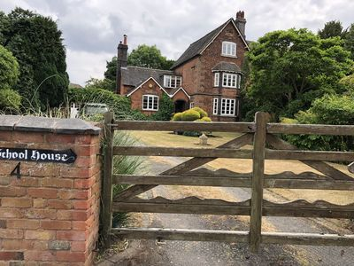 Photo for 16 century Old School House , one of the oldest properties in Little Aston