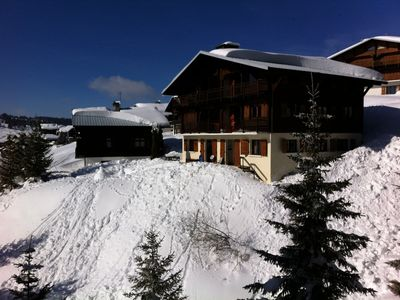Photo for Apartment cocconing 4 people all comfort at the foot of the slopes