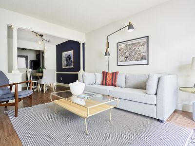 Photo for Sonder | 2306 Marquee Uptown | Smart 1BR + Pool