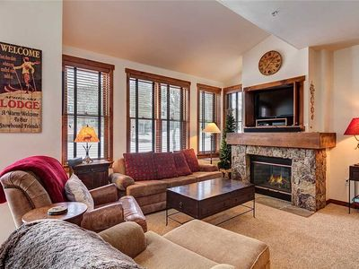 Photo for Located in Downtown Breckenridge! Beautifully decorated, private garage, pool and hot tubs!