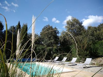 Photo for charming HOUSING in a villa in green surroundings near GORGES du VERDON