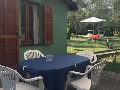Photo for two-room apartment in the green area in private, fenced, independent, privacy