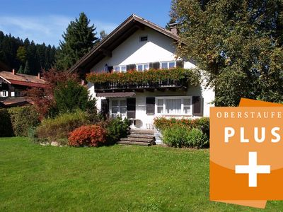 """Photo for Charming Apartment """"Haus Evi - Obergeschoß"""" with Mountain View, Wi-Fi, Balcony & Garden; Parking Available"""