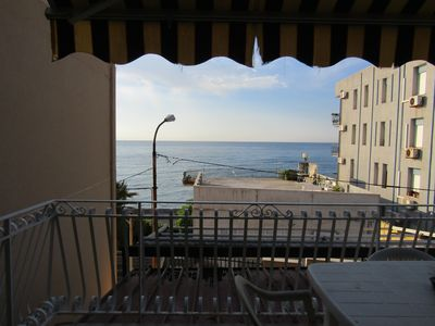 Photo for Central apartment Giardini Naxos with beach view