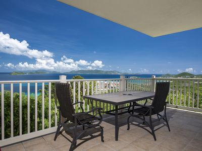 Luxury hilltop views, wrap around balc. Lower $ avail. for longer stays. D14