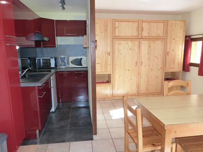 Photo for Very nice apartment 28m2 classified 2 stars in heart station, prox. tracks.