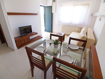 Photo for Lovely apartment for 4 guests with A/C, WIFI, pool, TV and parking