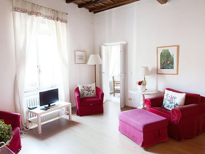 Photo for Apartment Farnese Stylish  in Rome: Historical City Center, Lazio - 4 persons, 2 bedrooms