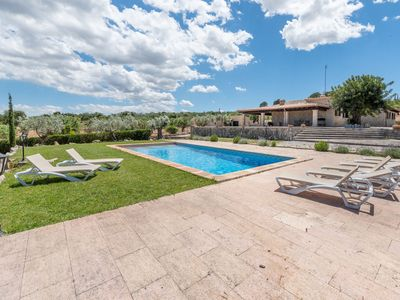 Photo for Air-conditioned Country House with Pool, Terrace & Garden; Parking Available