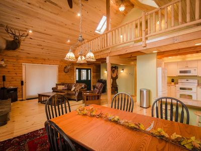 Photo for OVR's Chief Nemacolin's Lodge! Sleeps 14, on Stony Fork Creek! Hot Tub!