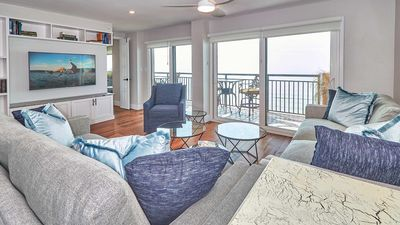 Photo for Remodeled to a LUXURY Direct Gulf Front balcony with unforgettable views and remarkable sunsets! Free wifi included