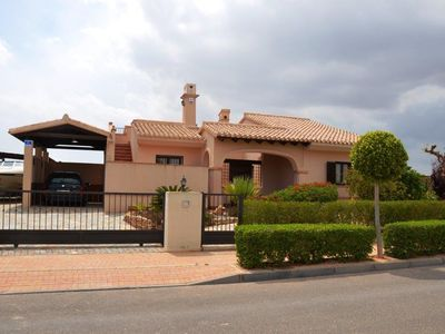 Photo for Fabulous front line Golf individual villa 3 bed with private pool - BBQ