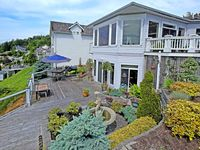 Beautiful view from deck !! Encountered a couple very small concerns that owners quickly and